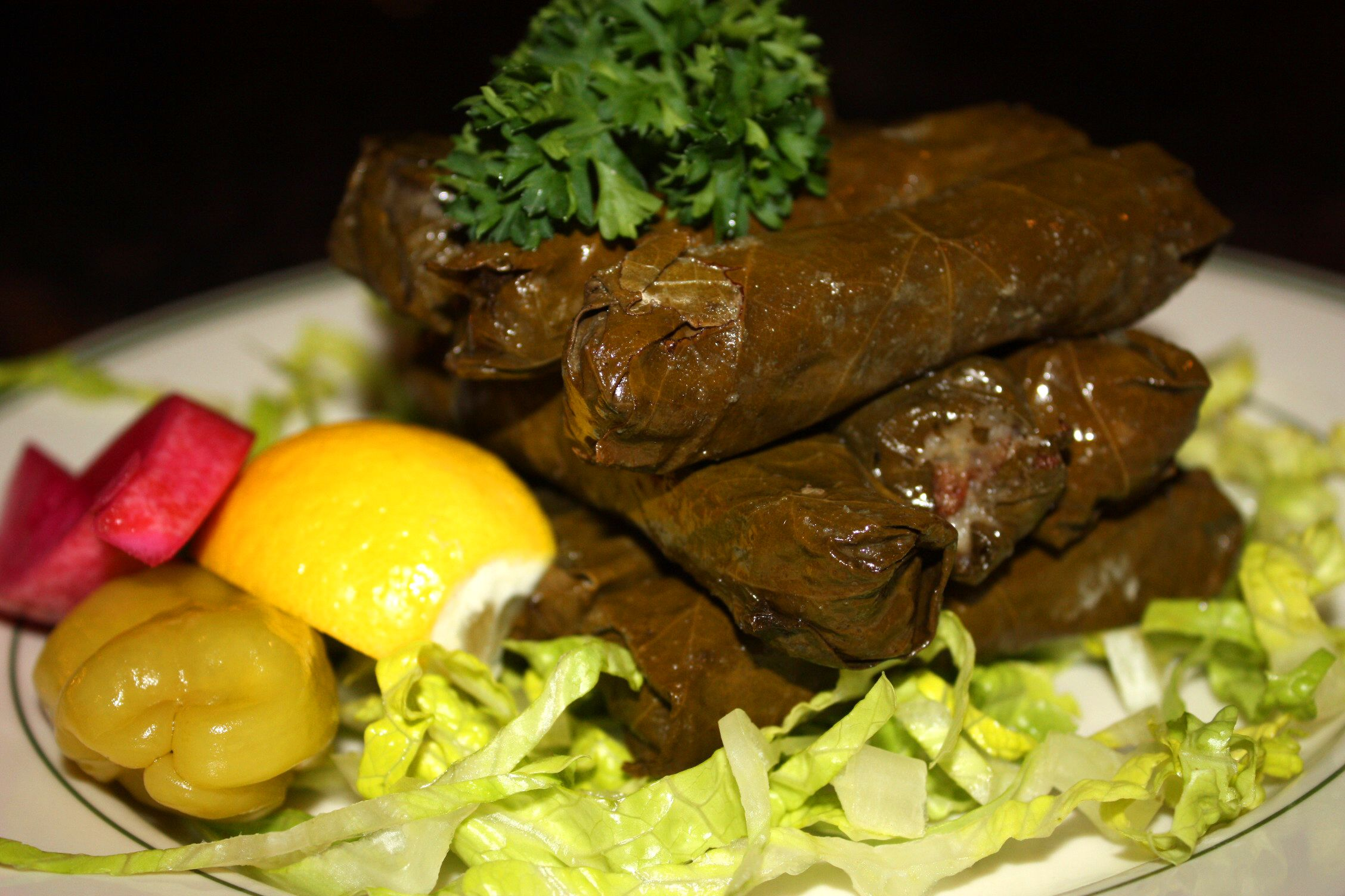 Grape Leaves Metro Detroit S 1 Middle Eastern Restaurant